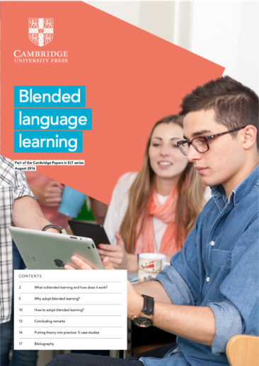 Cambridge University Press research paper - Blended language learning