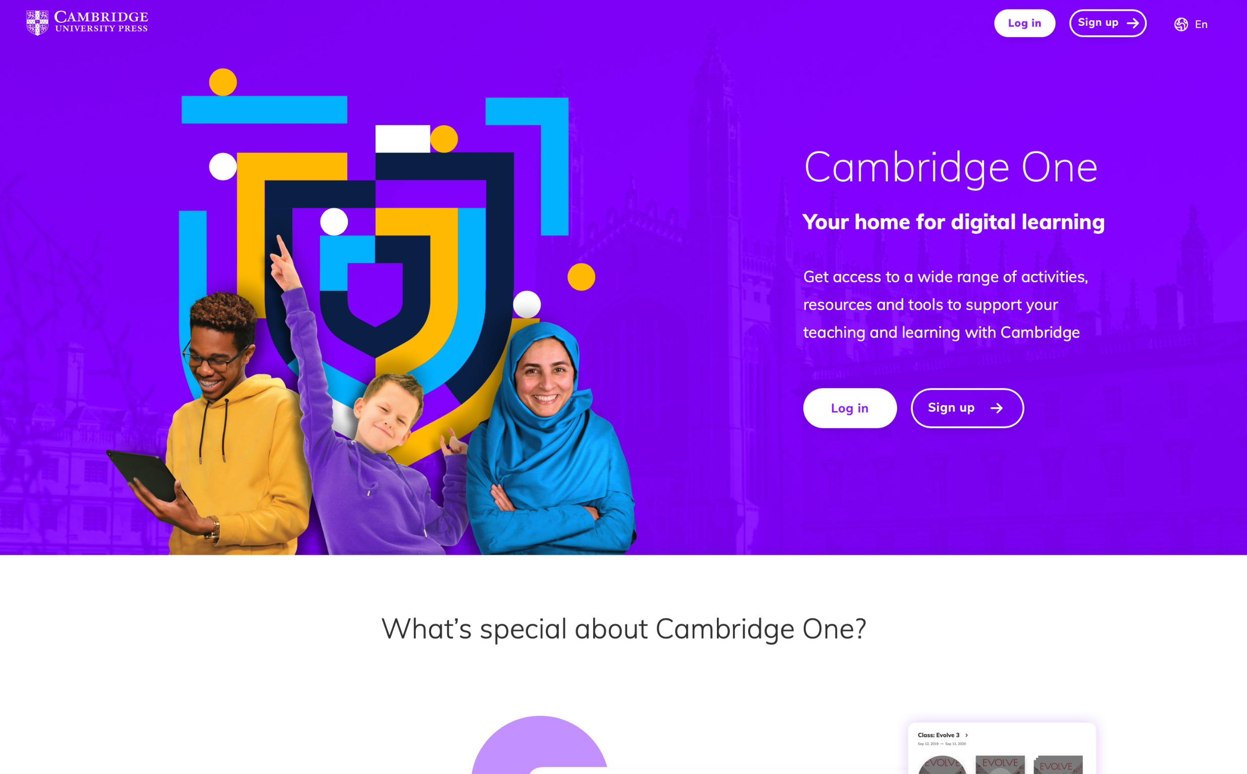 Cambridge One - Your new home for digital learning