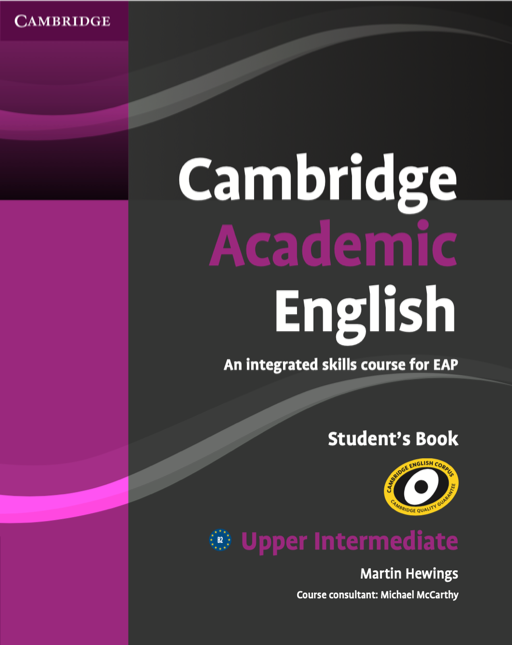 Cambridge Academic English Students Book, Upper Intermediate by Cambridge University Press