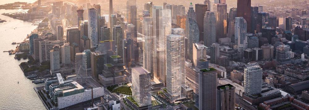 Toronto Downtown Core Aerial