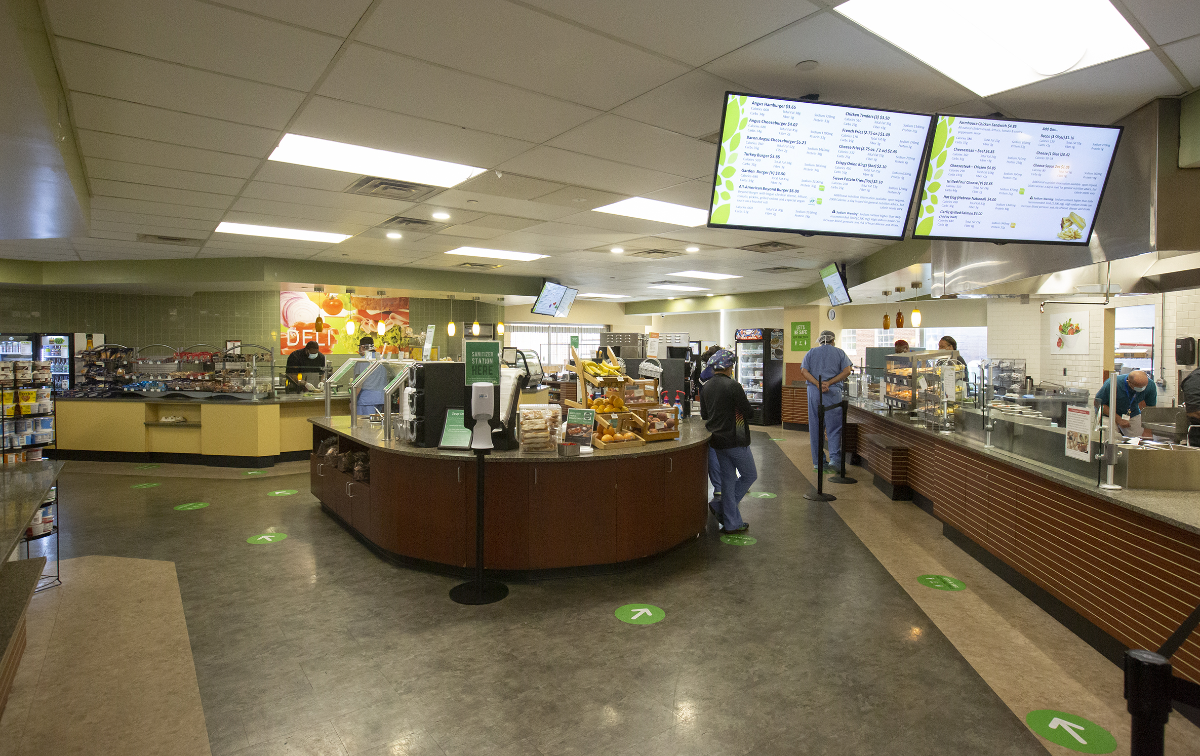 image of the cafeteria
