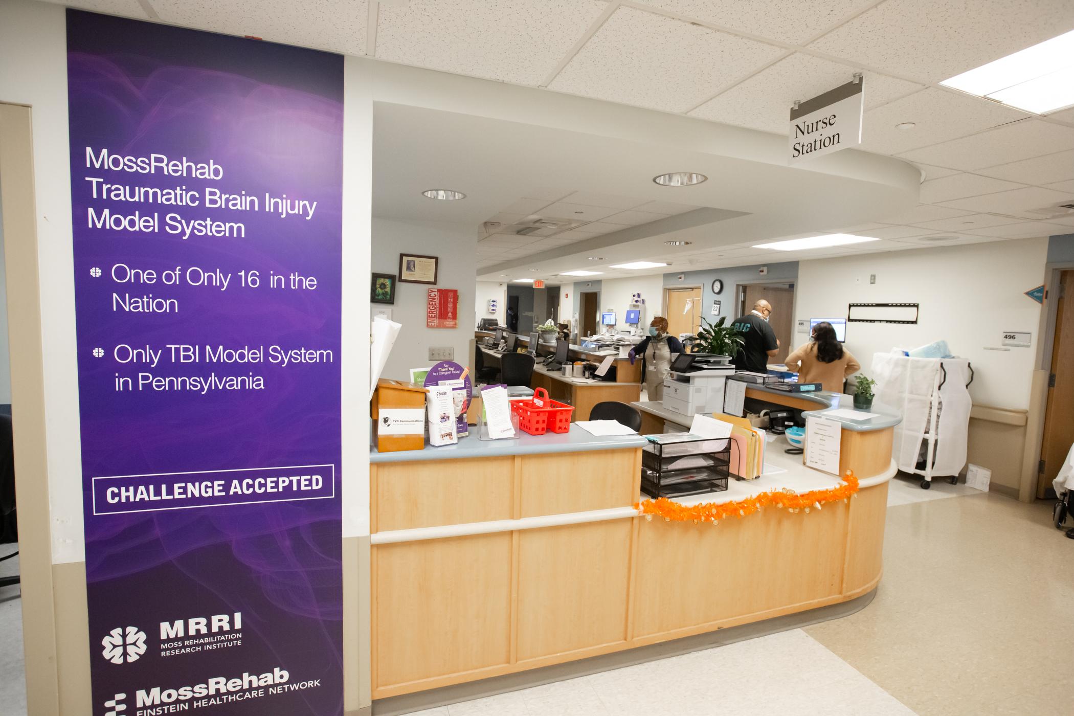image insdie inpatient rehab unit