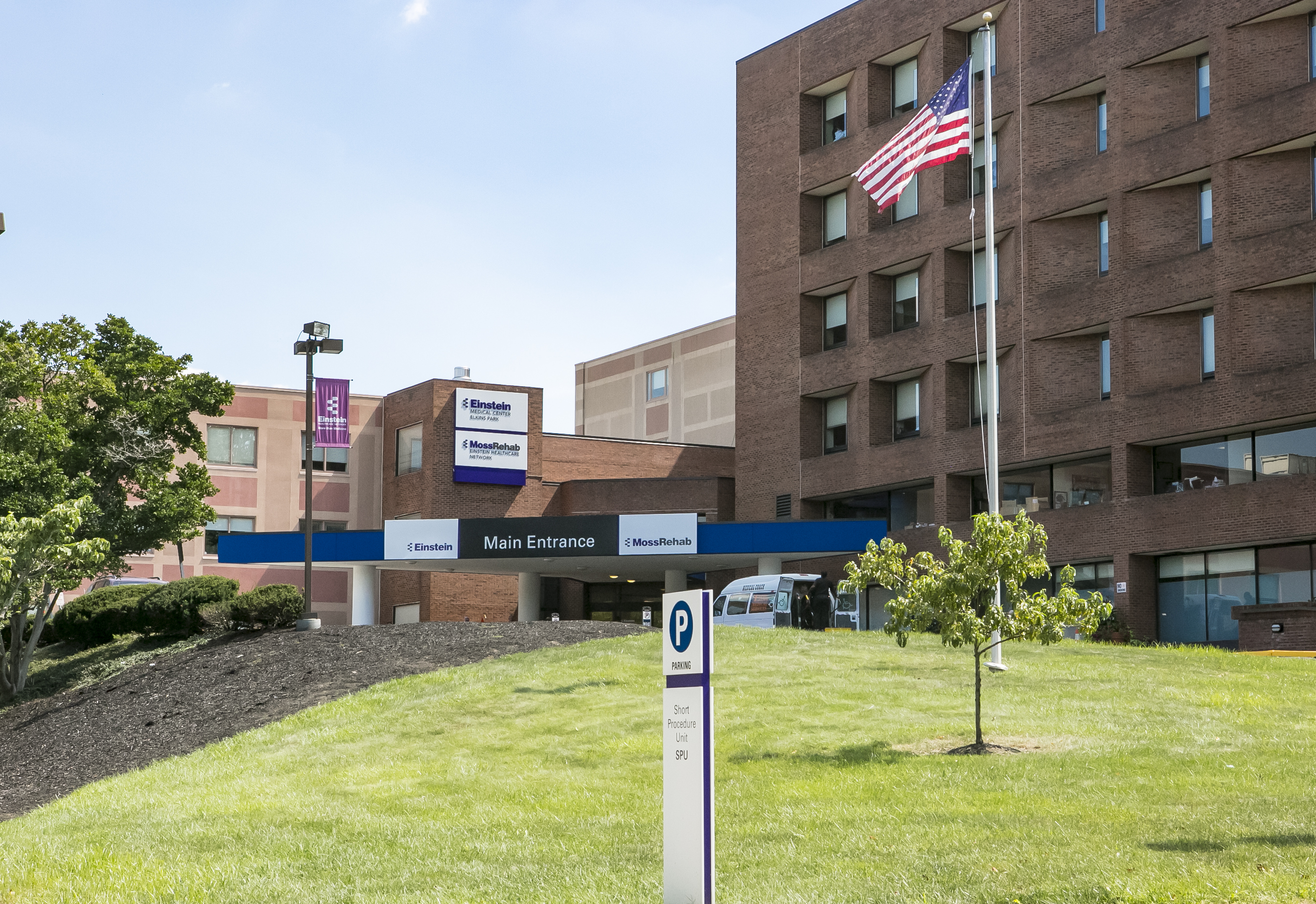 image of Einstein Medical Center Elkins Park exterior