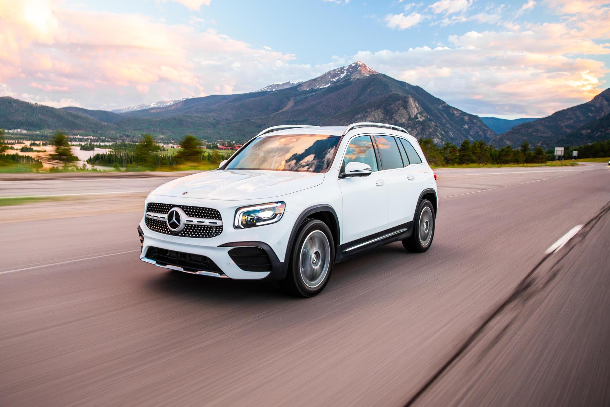 2020 Mercedes Benz Glb Suv Review A Fun Futuristic Family Car Fatherly