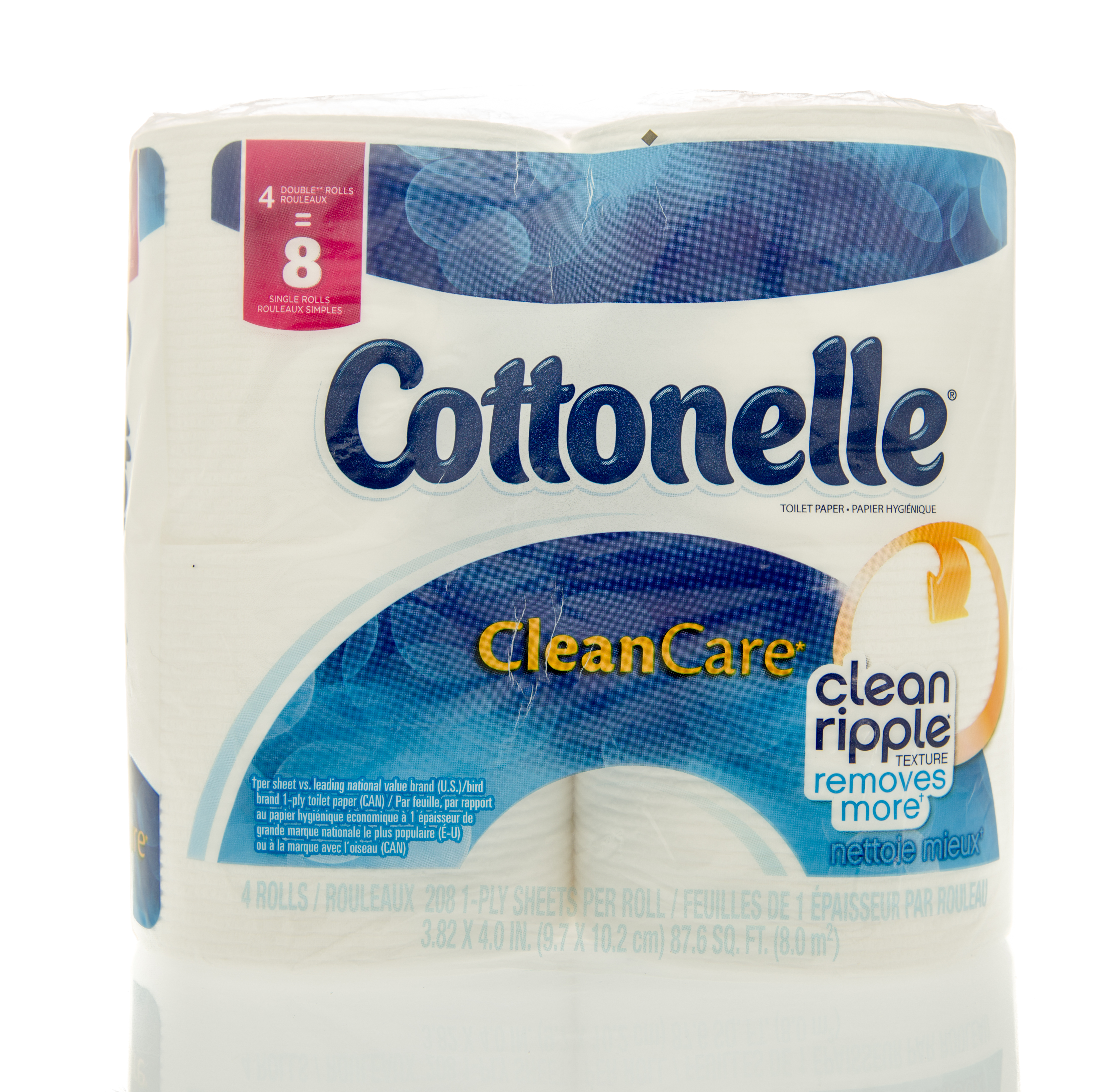 Winneconne, WI, USA  - 6 Feb 2016:  Package Cottonelle toilet paper.
