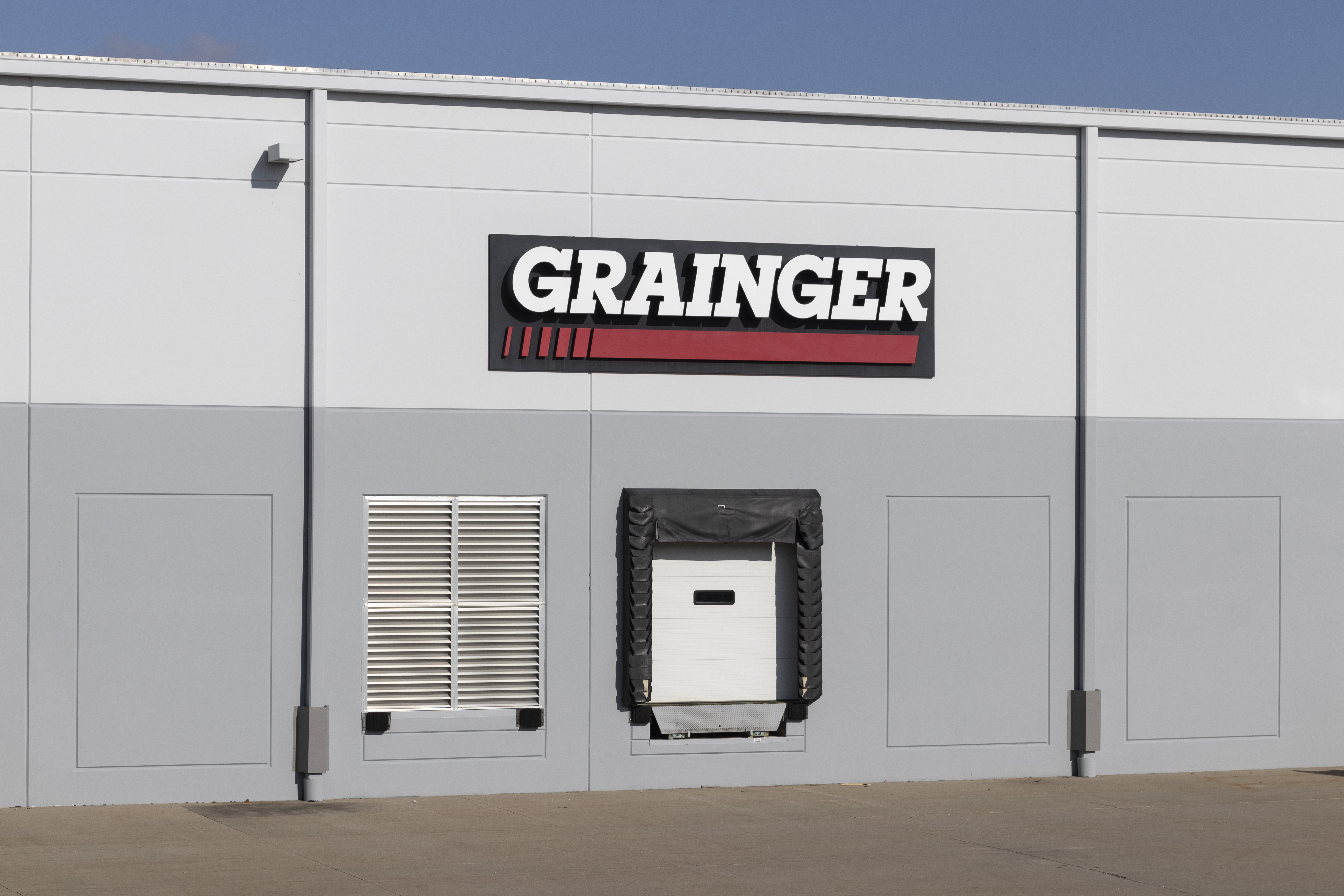 Fairfield - Circa November 2020: Grainger industrial supply warehouse. WW Grainger is a hardware and safety supply manufacturer.