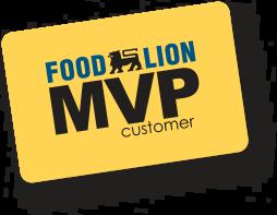 Food Lion MVP Card
