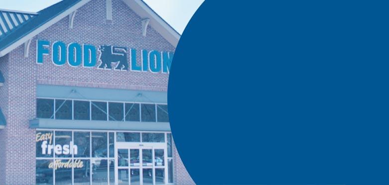 Exterior Food Lion Store