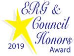 ERG &2019  Council Honors Award, logo