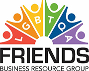 LGBTQA Friends Business Resource Group, logo