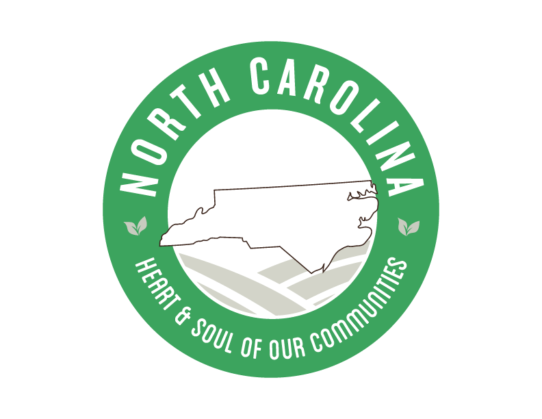 North Carolina local Goodness Logo, heart & soul of our communities