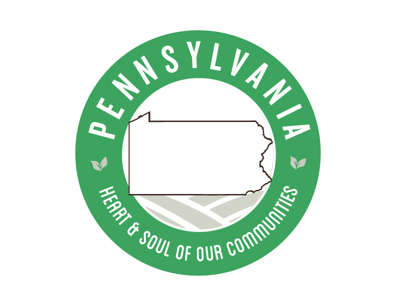 Pennsylvania local Goodness Logo, heart & soul of our communities