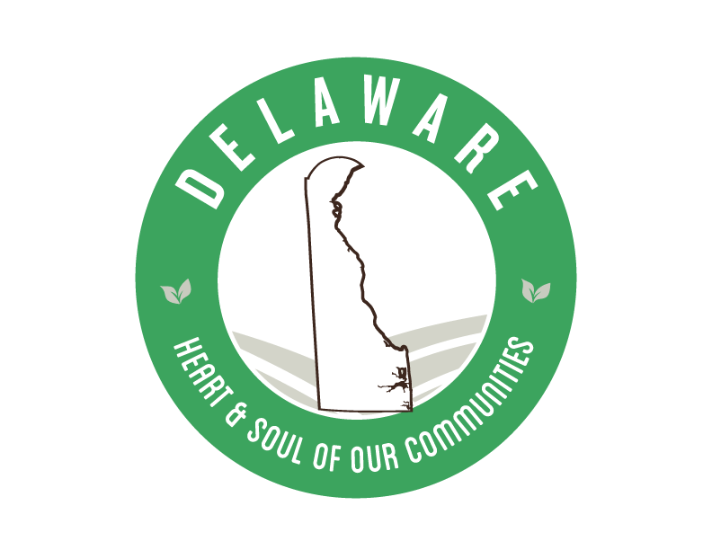 Delaware local Goodness Logo, heart & soul of our communities