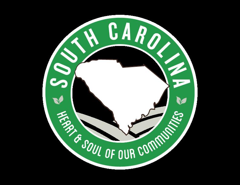 South Carolina local Goodness Logo, heart & soul of our communities