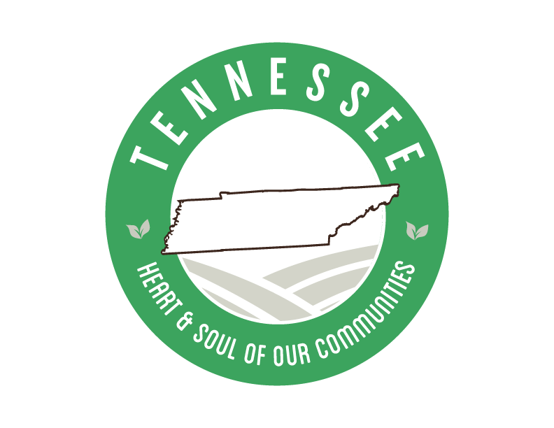 Tennessee local Goodness Logo, heart & soul of our communities