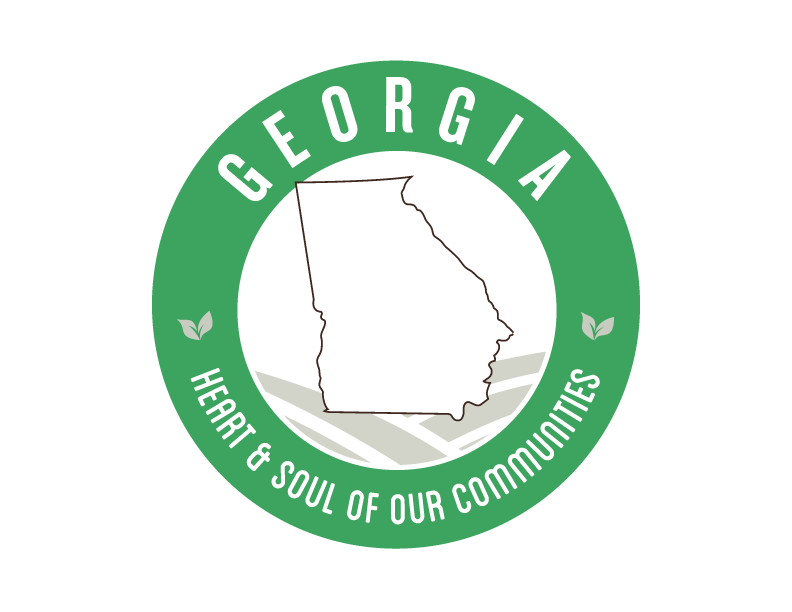 Georgia local Goodness Logo, heart & soul of our communities