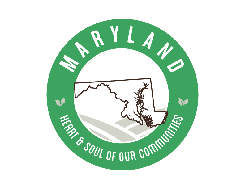 Maryland local Goodness Logo, heart & soul of our communities