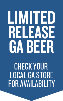 Limited Release GA Beer, Check your local GA store for availability, Blue Ribbon
