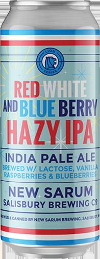 New Sarum Red White And Blue Berry Haze IPA