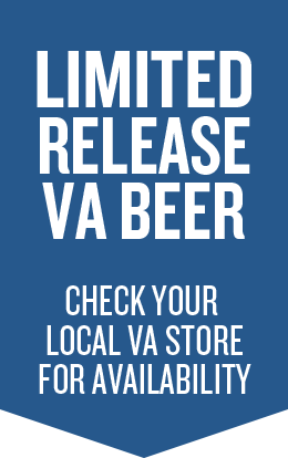 Limited Release VA Beer, Check your local VA store for availability, Blue Ribbon