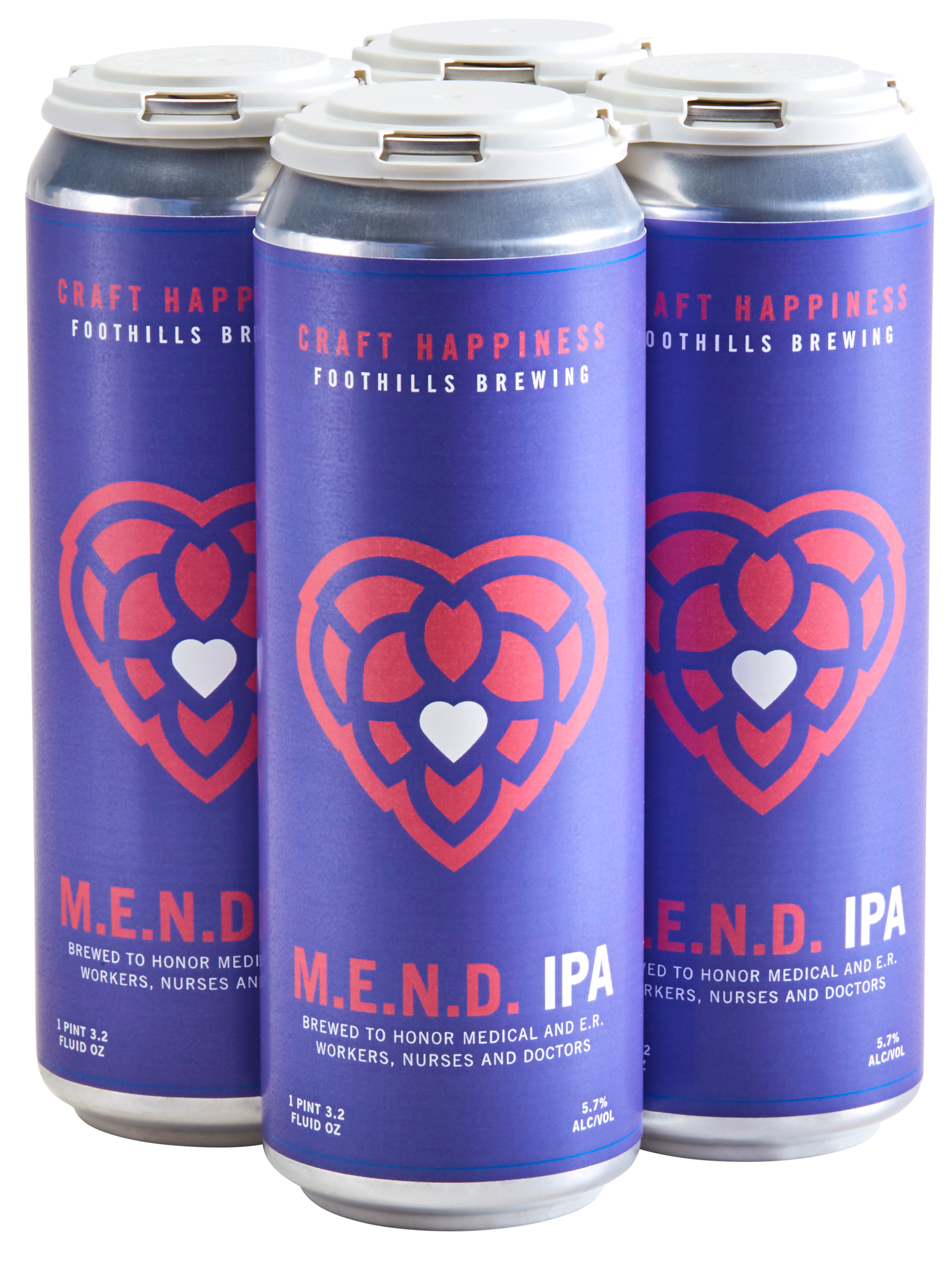 Foothills M.E.N.D. IPA can 4 pack