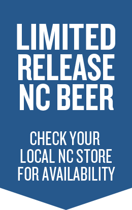 Limited Release NC Beer, Check your local NC store for availability, Blue Ribbon