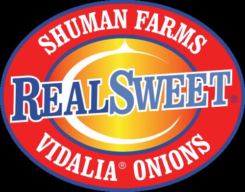 Real Sweet Logo, Shuman Farms Vidalia Onions