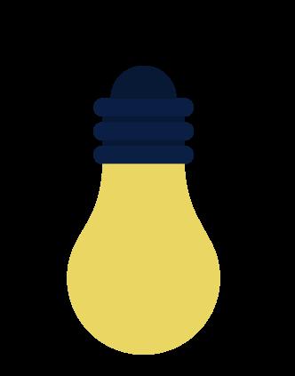 Upside Down Lightbulb