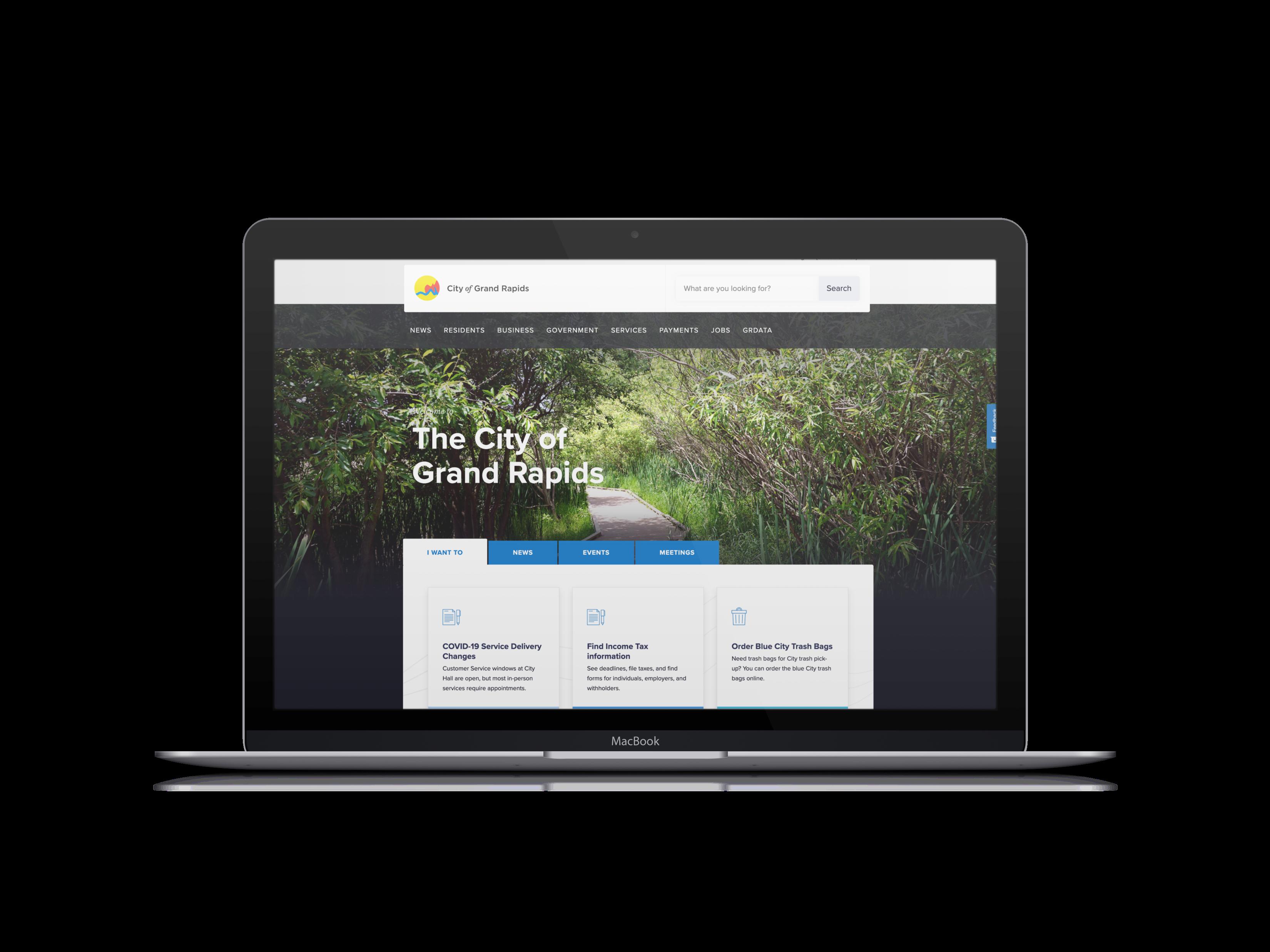 Grand rapids website