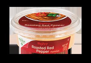 Hy-Vee Roasted Red Pepper Hummus
