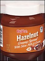 Hy-Vee Hazelnut Spread with Skim Milk & Cocoa