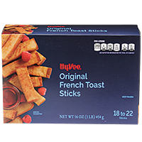 Cooked Hy-Vee French Toast Sticks