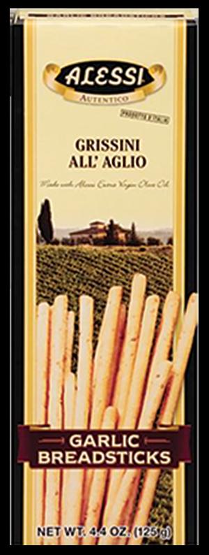 Garlic Breadstick Crackers