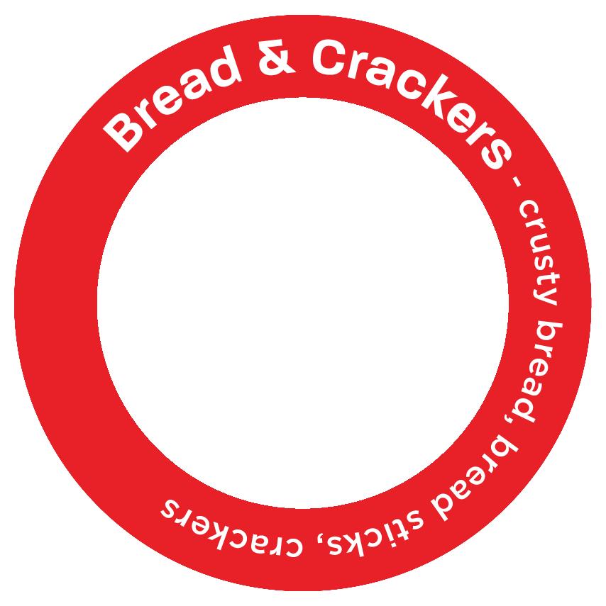 Bread & Crackers - crusty bread, bread sticks, crackers