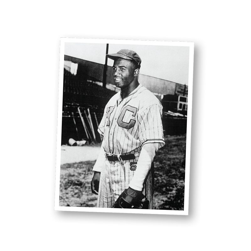 An image of Jackie Robinson