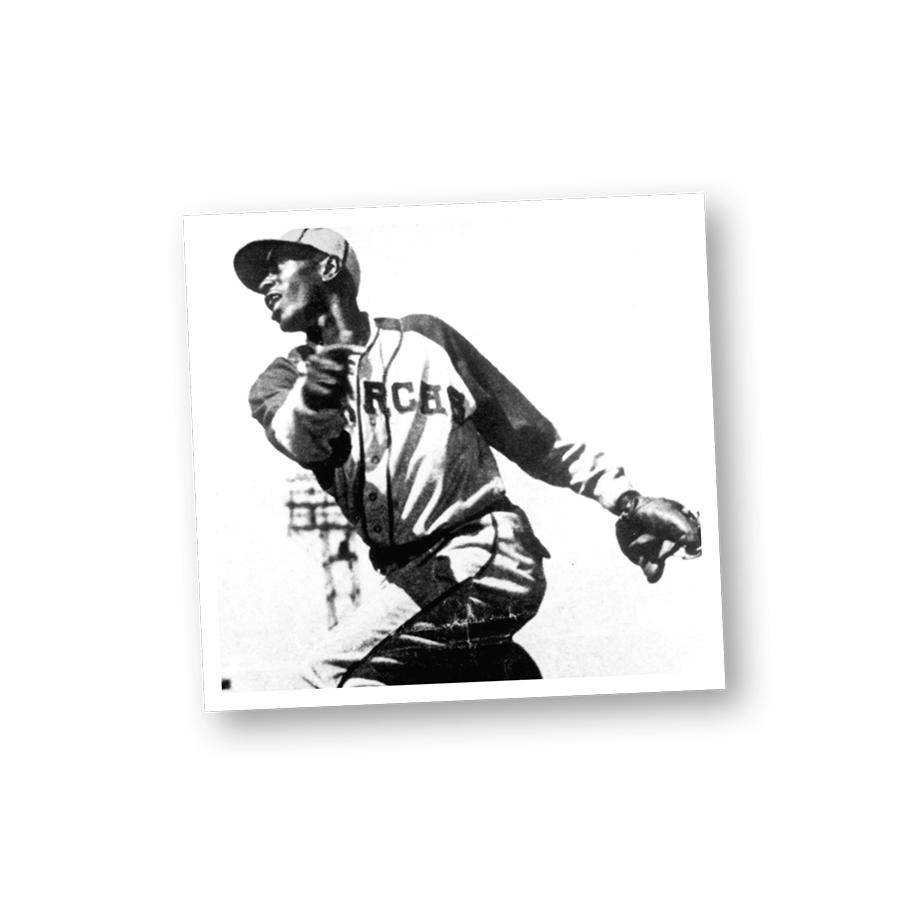 A post throw image of Satchel Paige
