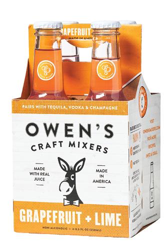 4-Pack of Owen's Craft Mixers