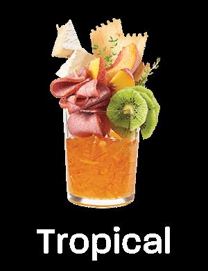 Tropical Jarcuterie