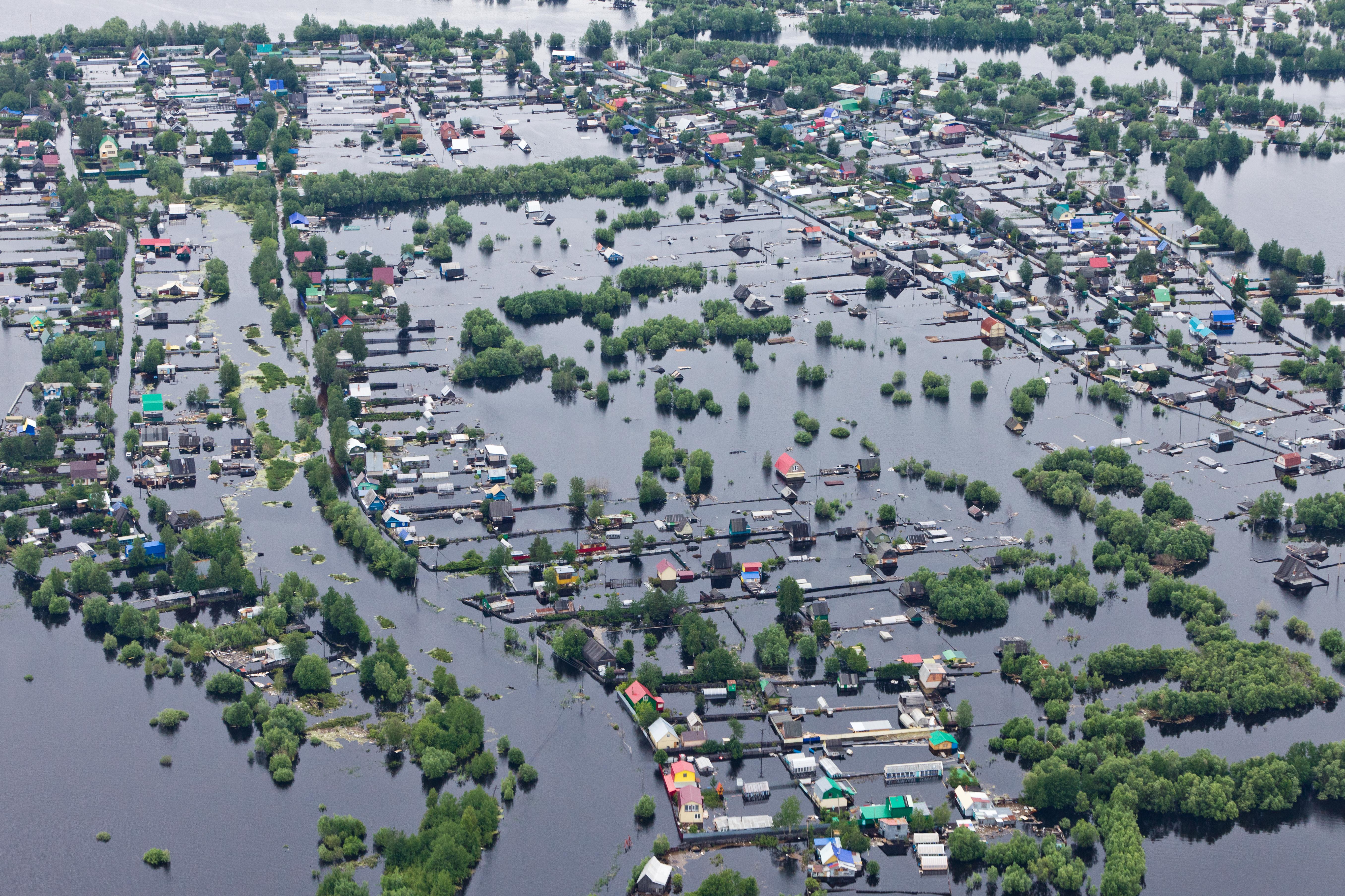 Flood Overhead