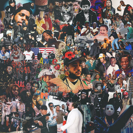 how math creates collage art for asap mob hypebeast