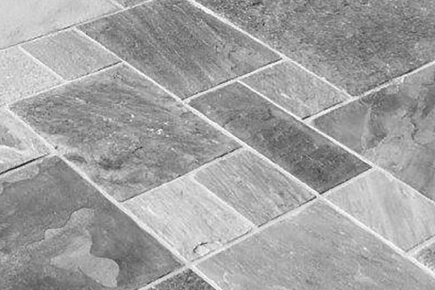 closeup of stone tile