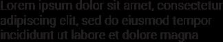 Lorem ipsum dolor sit amet, consectetur adipiscing elit, sed do eiusmod tempor incididunt ut labore et dolore magna aliqua. Quis ipsum suspendisse ultrices gravida. Risus commodo viverra maecenas accumsan lacus vel facilisis.