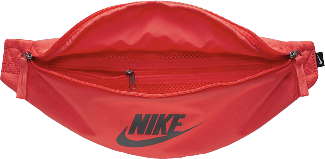 red nike hip pack