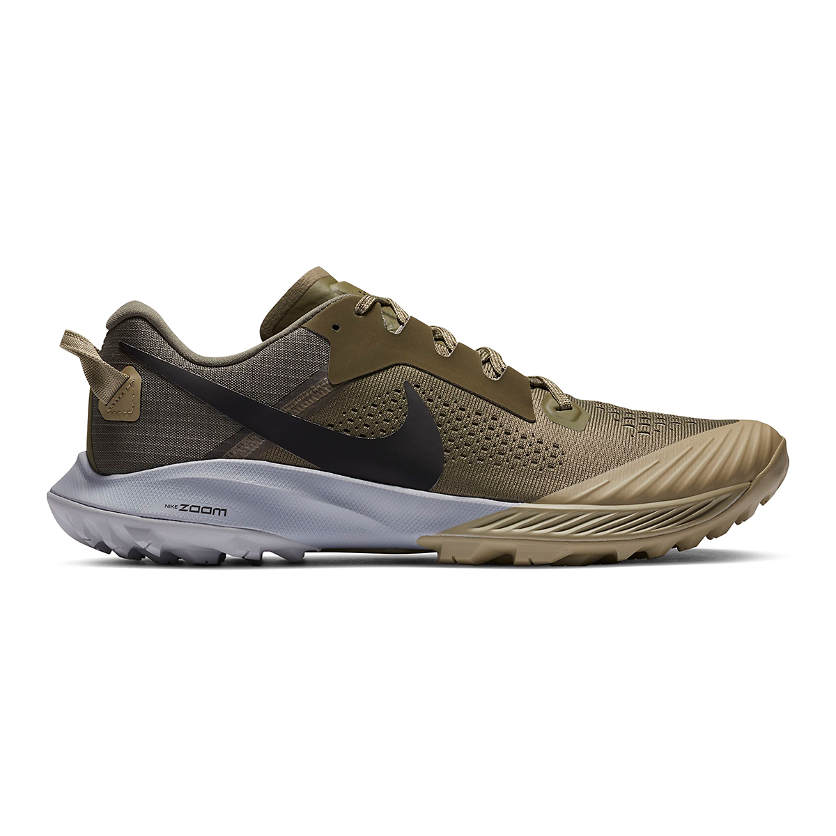 photo of the nike terra kiger 6 in olive