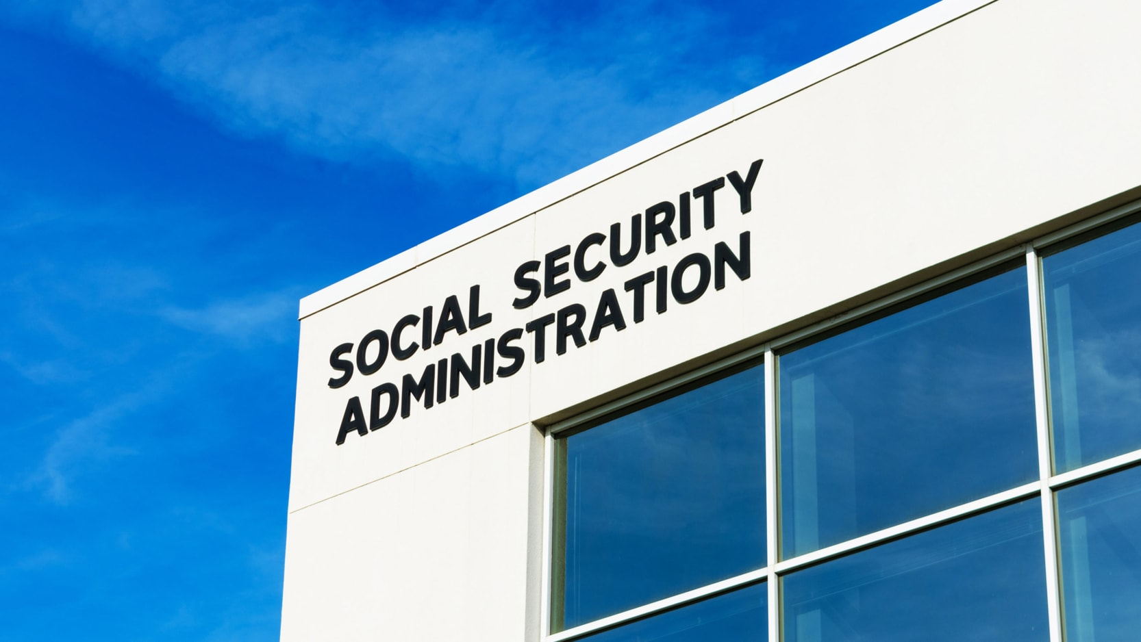 The Social Security Administration building.