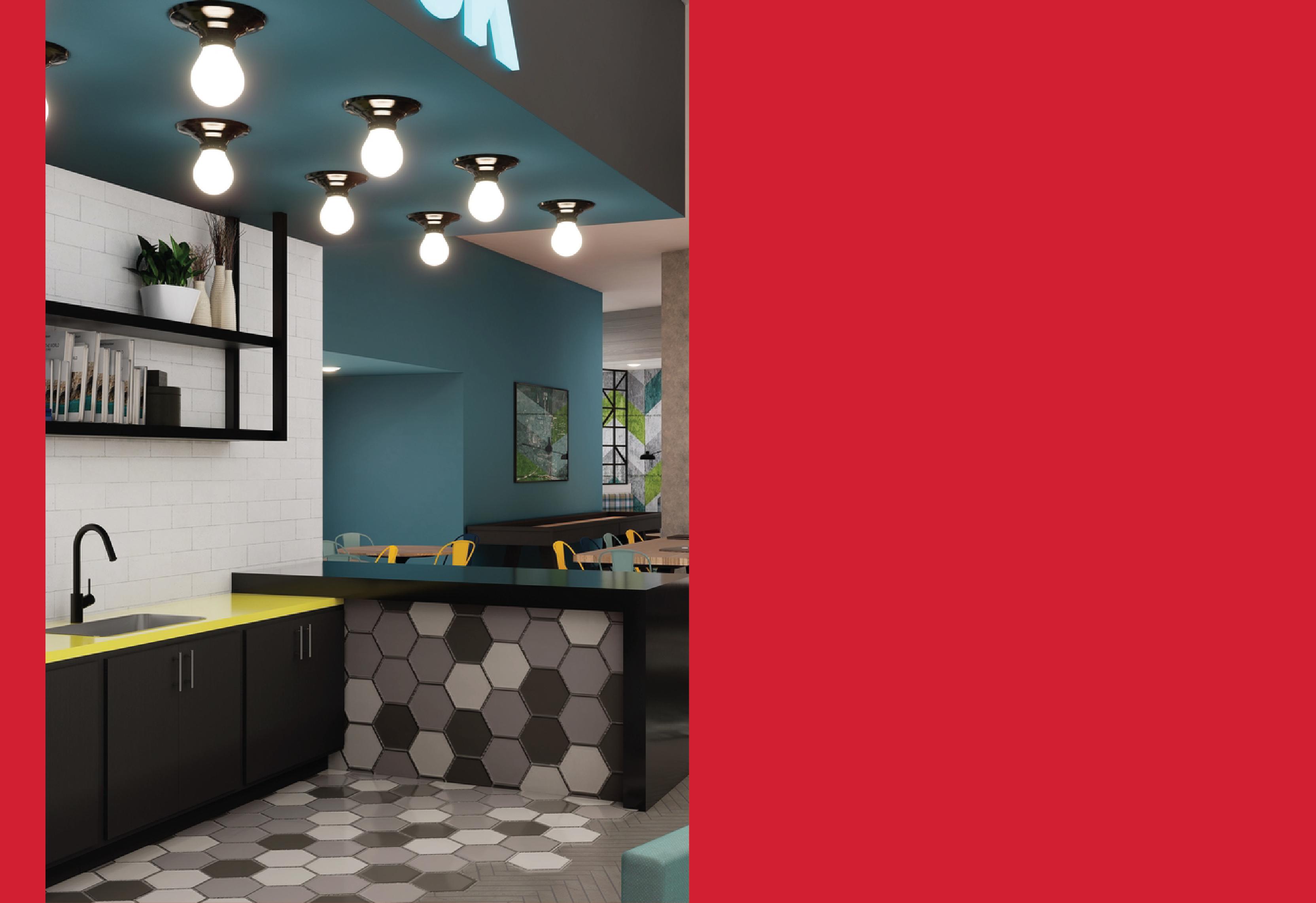 Standard Raleigh Coffee Bar area