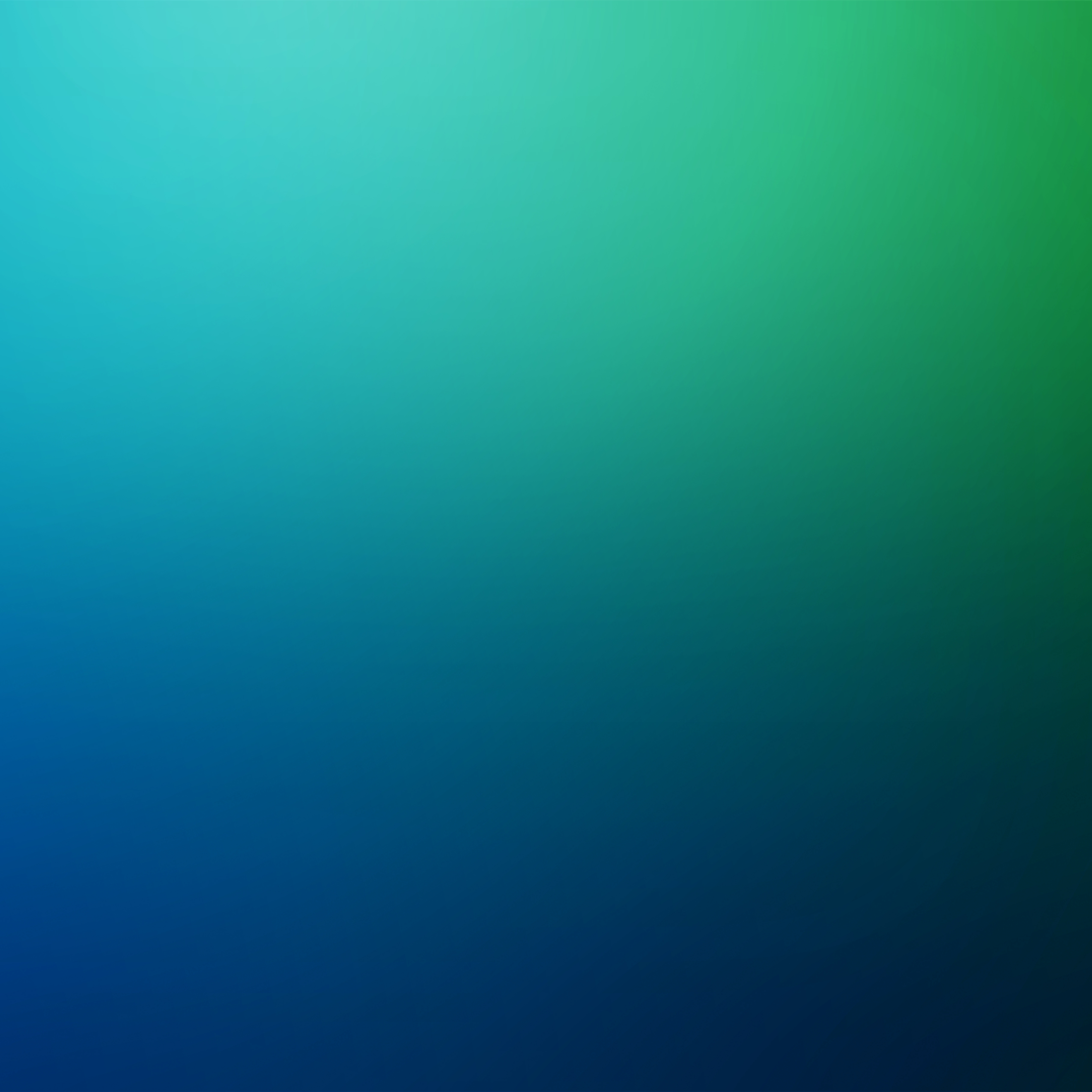 Green and Blue Defocused Blurred Motion Abstract Background, Square Illustration
