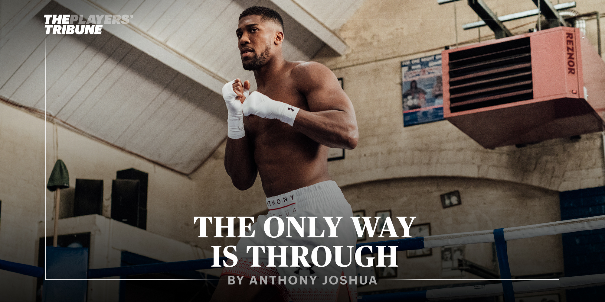 The Only Way Is Through | By Anthony Joshua