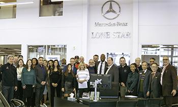 Lone Star Mercedes-Benz staff