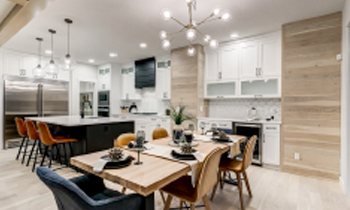 City Homes Master Builder Kitchen and dining area